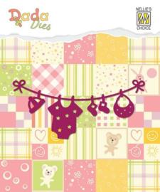 Nellies Choice DADA Baby Die - waslijn DDD003