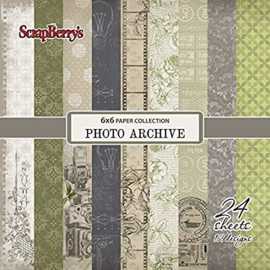 ScrapBerry's Photo Archive Paper Set 6x6 Inch 170gsm