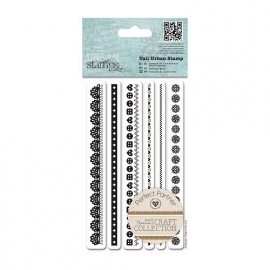 PMA 907224  Tall Urban Stamp (6pcs) - Craft Collection - Pastels
