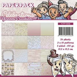 Yvonne Creations - YCPP10008 Paperpack Celebrations