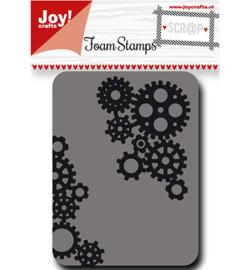 6410/0448 Foam Stamps tandwielen