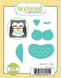 Taylored Expressions Sack It Owl (TE269)