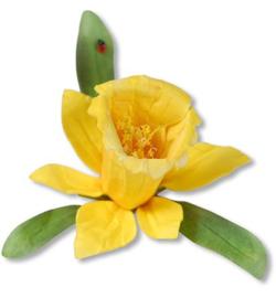 Sizzix - Die - Thinlits - Susan`s Garden - Flower Daffodil 658414