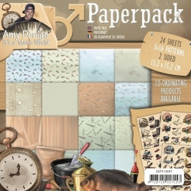 Amy Design - ADPP10007  Paperpack - Its a Mans World