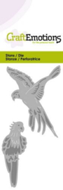 CraftEmotions Die 115633/0211 - papegaai