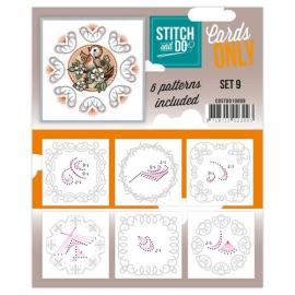 COSTDO10009  Stitch & Do - Cards only - Set 9
