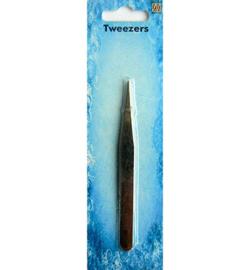 Nellie's Choice Tweezers pincet straight sharp point PINS001