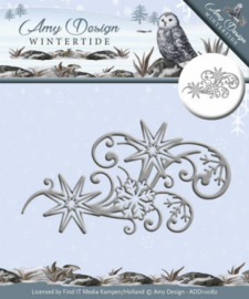 Amy Design - ADD10082 Wintertide Ice Crystal Swirl