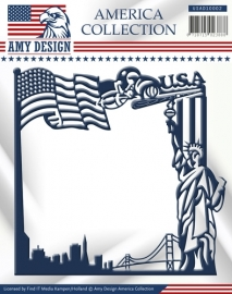 Amy Design - America Collection - America Frame USAD10002