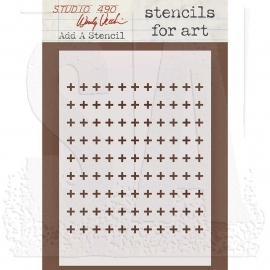 Wendy Vecchi Stencils for Art WVSFA025 Add a Stencil