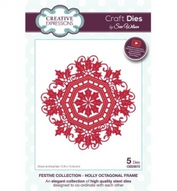 Creative Expressions CED3072 Holly Octagonal Frame