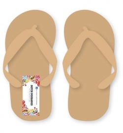 460.440.160 Dutch MDF Art Pair of flipflops