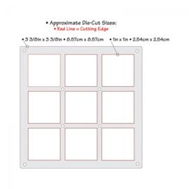 Sizzix Thinlits Die - Grid Works  658871
