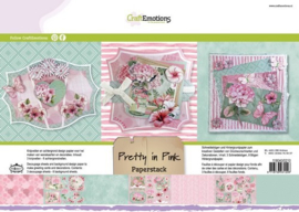 CraftEmotions - Paperpad - Pretty in Pink 118040/0210