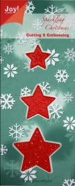 6002/2003 Kerst 3 kerststerren