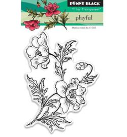 Penny Black clearstamp - Playful II
