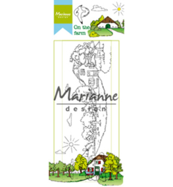 Marianne Design HT1632 - Hetty's on the farm