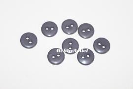 Grijze knoopjes 10 stuks 11mm