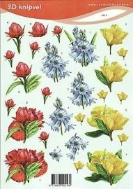 2216 voorbeeldkaarten bloemen