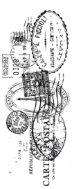 Kaisercraft clear stamp postmarks CS802