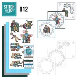 STDO012 Stitch and Do 12 - Vaderdag