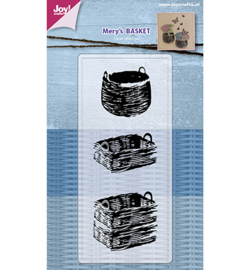 6410/0485 - Clearstamp - Mery's Baskets