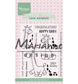 Marianne Design - EC0169 - Eline's giraffe