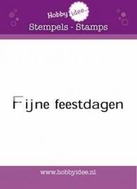 Hi-stamp-0146 Fijne feestdagen
