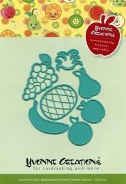 Yvonne Creations - CDD10020  Die - Fruit