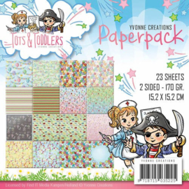Yvonne Creations - YCPP10012 - Paperpack - Tots and Toddlers