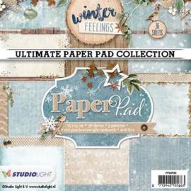 Studio Light Paper pad 36 vel 12 designs nr 90 PPWF90 15x15cm