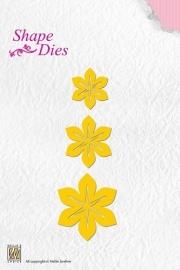 Nellie Snellen - SD044  Shape Dies Flowers-1