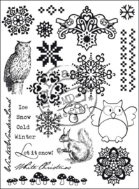 Marianne Design EC0133 Clearstamp Let it snow