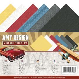 AD-4K-10010 - Linnenpakket - 4K - Amy Design - Vintage Vehicles