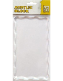 Nellie's Choice Acrylic stamping bloc 160x90x8mm AB008