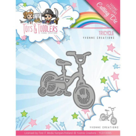 Yvonne Creations - YCD10095 - Tots and Toddlers - Tricycle