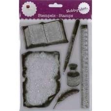 Hi-stamp-0025 Stempel Schrijven 15,5 x 20 cm