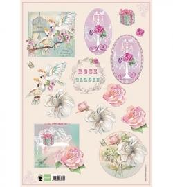 Marianne Design Rose garden EWK1220