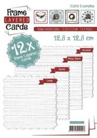 LC4K10001 - Frame Layered Cards 1 - 4K