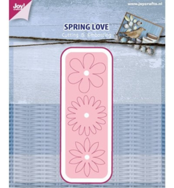6002/0437 - Cutting & Embossing Stencil - Spring Love