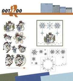 Dot and Do 24 - Snowmen DODO024