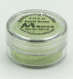 Mboss Embossing powder Apple green 390106