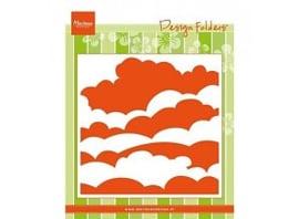 Marianne Design Embossing Folder Clouds DF3434