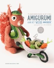 Amigurumi aan het werk