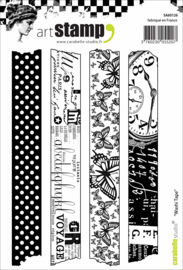 Carabelle Studio SA60126 Cling Stamp Washi Tape
