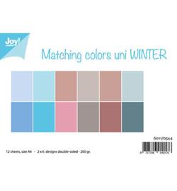 6011/0544 - Matching Colors Uni - Winter