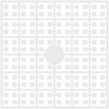 pixelmatje 100 - wit