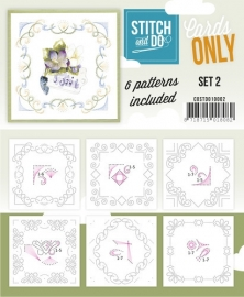 COSTDO10002  Stitch & Do - Cards only - Set 2