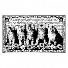 Crafty Individuals CI-222 Five Fluffy Kittens