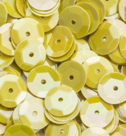 Pailletten 6mm AB Color, Yellow 12212-1224